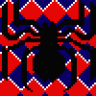 Spiderman blanket pattern