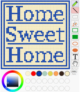 Pattern Grid for cross stitch and other patterns